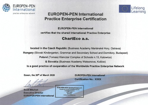 Cert Europen PEN